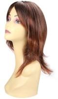 Wig-O-Mania Sheeba Syn Fibre Medium Stylish Dark Brown With Rusty Red Hair Extension