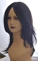 Wig-O-Mania Helene High Heat Mono at Parting Natural Black Hair Extension