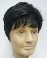 Wig-O-Mania Wilson High Heat Men's Wig Dark Brown Hair Extension
