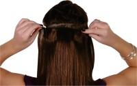 Majik Best Quality 120 Gm Single Pcs Medium Brown 28 Inch Human Hair Extension