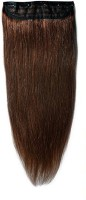 Majik Best Quality 160 Gm Single Pcs Medium Brown 32 Inch Human Hair Extension