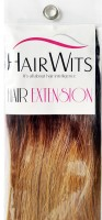 Hairwits Synthetic  Extensions- For Added Length and Volume- Black-Straight Hair Extension