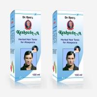 Dr.Rao's Keshovin-A(Alopecia Hair Oil)(100ml)(Pack Of 2) Hair Oil(200 ml)