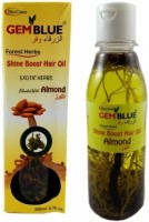 Biocare Gem Blue Forest Herbs Shine Boost Blend With Almond Hair Oil(200 ml)