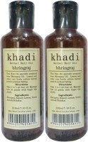 Khadi Herbal Bhringraj [ PACK of 2] Hair Oil(420 ml)
