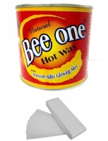 Out Of Box Beeone Hot Wax with 100 Wax Strips Cream(600 g)
