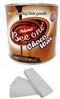 Out Of Box Beeone Chocolate Body Wax with 100 Wax Strips Cream(600 g)