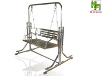 View Kamlesh Zula House Upper Couple (Kzh04) Stainless Steel Swing(Silver, Pack of 2) Furniture (Kamlesh Zula House)