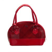 Goodwill LEATHER ART Women Red Hand-held Bag