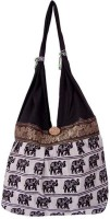 Khatri Handicrafts Shoulder Bag(Black)