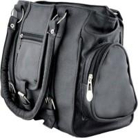 SSM Girls Black Hand-held Bag
