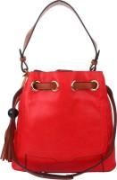 Style Villaz Hand-held Bag(Red)