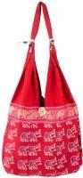 Khatri Handicrafts Messenger Bag(Red)