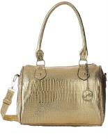 Creative India Exports Hand-held Bag(Gold)
