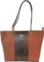 Mex Shoulder Bag(Brown, Tan)