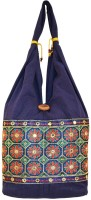 Khatri Handicrafts Messenger Bag(Blue)