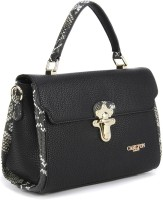 Carlton London Hand-held Bag(Black)