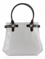 Sharav Women Grey, Brown Hand-held Bag