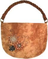 Miruna Designs Girls Brown Messenger Bag