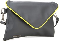 Fastrack Sling Bag(Grey, Yellow)