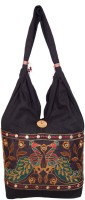 Khatri Handicrafts Messenger Bag(Black)