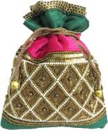 KAWAII Multi Color Women's Designer Potli Cosmetic Bag