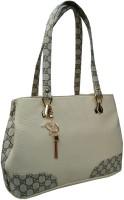 Alifs Shoulder Bag(White, Grey)