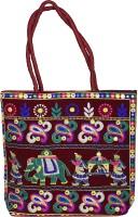 Magnus Women Maroon Hand-held Bag