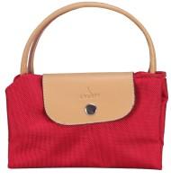 ADAMIS Women Red, Beige Hand-held Bag