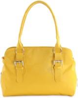 Goodwill LEATHER ART Girls Yellow Hand-held Bag
