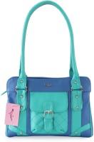 Lady World Girls Green, Blue Shoulder Bag