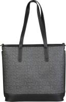 Pierre Cardin Shoulder Bag(Black, Grey)