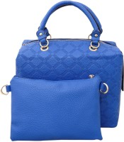 Heels & Handles Hand-held Bag(Blue)