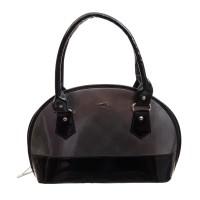 Goodwill LEATHER ART Girls Black Hand-held Bag