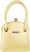 Silver Rose Hand-held Bag(Beige)
