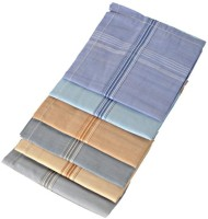 Oshop Trades Stripes Handkerchief(Pack of 6)
