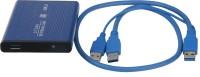 Smartpro USB 3.0 2.5 Inch External Hard Drive Enclosure(For Serail ATA, Blue)