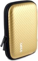 View Gizga Essentials Hard Drive Case 2.5 inch Carbon Fiber Mesh(For 2.5 inch Hard Drive, Gold) Laptop Accessories Price Online(Gizga Essentials)