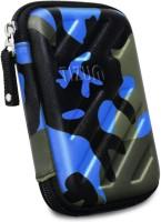 TIZUM Hard Drive Case 2.5 inch GPS -Premium Edition (Camouflage Blue)(For 2.5-Inch Hard Drive, Multicolor)