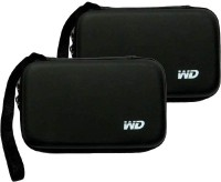 View WD Hard Drive Case 2.5 inch External Hard Drive Case(For WD, Segate, etc, Black) Laptop Accessories Price Online(WD)
