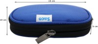 Saco Back Cover for Dell Portable BackupHardDrive 1 TB External Hard Disk(Blue, Shock Proof, Artificial Leather)