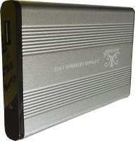 Axcess USB 3.0 2.5 inch External Hard Drive Enclosure(For Serail ATA) 2.5 inch Hard Drive Enclosure(For Serail ATA, Silver)