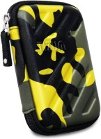 Tizum Hard Drive Case 2.5 inch GPS -Premium Edition (Camouflage Yellow)(For 2.5-Inch Hard Drive, Multicolor)