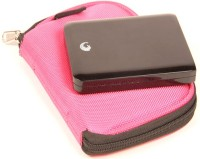SVVM ALLS37P External Hard Disk Cover(For Seagate, Western Digital, Dell, Sony, Buffalo, etc, Pink)