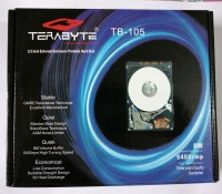 TERABYTE TB SATA CASING 2.5 inch HDD ENCLOSURE(For 2.5 INCH SATA HDD, Black, White)