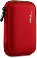 View Gizga Essentials Hard Drive Case 2.5 inch Double Padded(For 2.5-Inch External Hard Drive, Red) Laptop Accessories Price Online(Gizga Essentials)