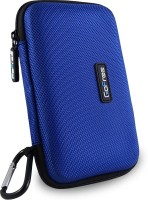 GoFree Nylon 2.5 inch External Hard Disk Carrying Case(For WD My Passport Ultra II, Azure Blue)