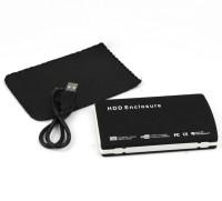 View AVB TB Velvet Sata Casing Usb 2.0 2.5 inch Laptop External Hard Drive Enclosure(For Laptop Sata upto 1TB, Black) Laptop Accessories Price Online(AVB)