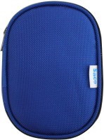 Saco 123-Blue 2.5 Inch External Hard Disk Cover(For Western Digital Passport & Essential, Buffalo HDD, Samsung HDD, Toshiba HDD, Verbatim HDD, Seagate, Blue)
