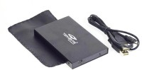 Terabyte TB031 2.5 inch EXTERNAL SILVER SATA CASING(For TERABYTE INDIA, Black)